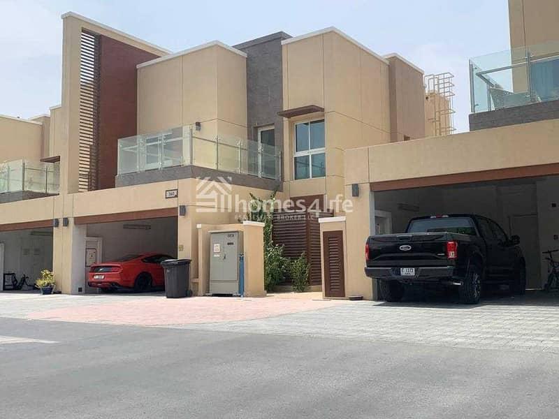 Single Row | 3 Beds+M villa | Vastu Unit