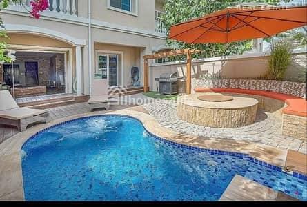 تاون هاوس 3 غرف نوم للبيع في مثلث قرية الجميرا (JVT)، دبي - Fully Upgraded   Private Pool   BBQ Area