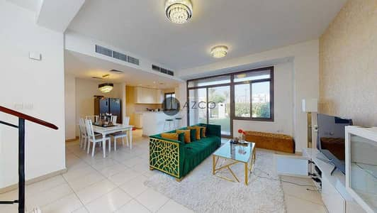 3 Bedroom Townhouse for Rent in Town Square, Dubai - 3 BR | Backing to Pool and Park and Facilities