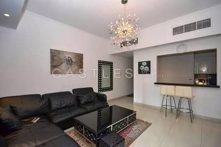 Furnished 1BR in Silverene Tower A with Pool & Marina View
