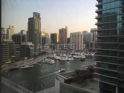 1 Bedroom Flat for Sale in Dubai Marina, Dubai - Mid Floor - Tenanted with over 6% ROI - Partial marina view