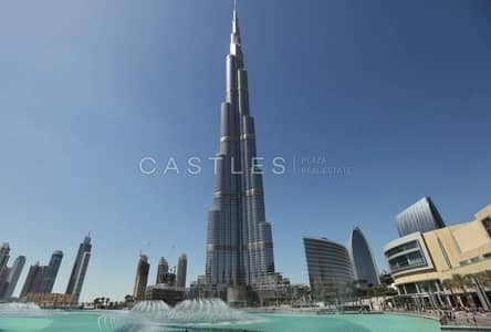 2 Bedroom Flat for Sale in Downtown Dubai, Dubai - Vacant  2BR+maid's apartment in Burj Khalifa with Sea View