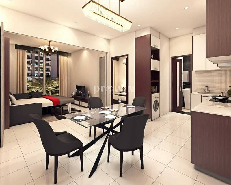 LAST UNIT | Q3 2021 HANDOVER | ONE BED APT COVERTED TO TWO  BED APT | GREAT PAYMENT PLAN | CALL NOW !!!