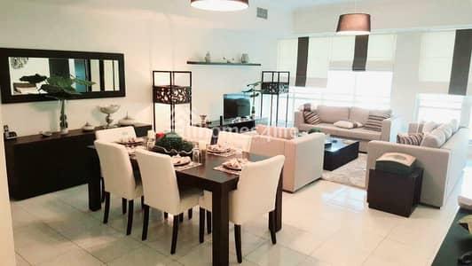 فلیٹ 3 غرف نوم للايجار في دبي مارينا، دبي - 3BED + STUDY | MARINA VIEW | CHILLER FREE