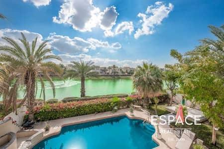 فیلا 4 غرف نوم للبيع في السهول، دبي - Full Lake View | Private Pool | Renovated