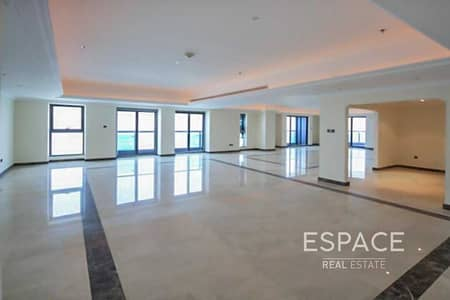 5 Bedroom Penthouse for Rent in Dubai Marina, Dubai - Penthouse | Unfurnished | Panoramic Sea View