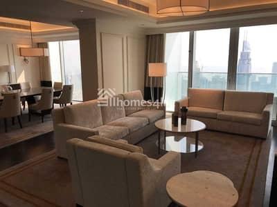 4 Bedroom Apartment for Rent in Downtown Dubai, Dubai - Burj Khalifa View    Stunning    Call now
