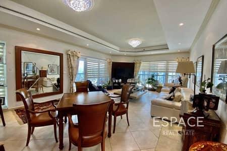 فلیٹ 3 غرف نوم للايجار في دبي مارينا، دبي - Elegant   Furnished   Beautiful 3BR Plus Maids