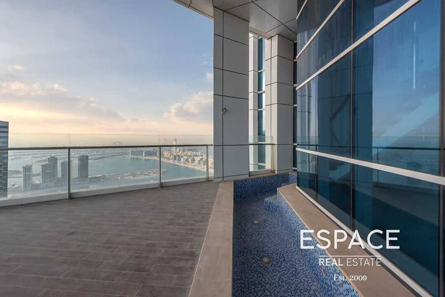 Duplex Penthouse | Plunge Pool | Sea and Palm Views