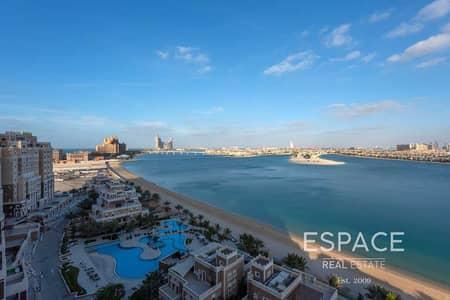 بنتهاوس 6 غرف نوم للبيع في نخلة جميرا، دبي - Vacant   6 Bed Penthouse   Sea Views   Private Pool
