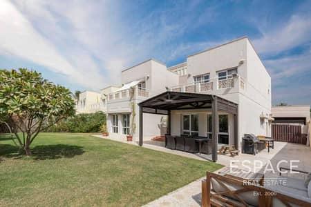 فیلا 4 غرف نوم للبيع في السهول، دبي - Single Row - Park View - Corner Plot