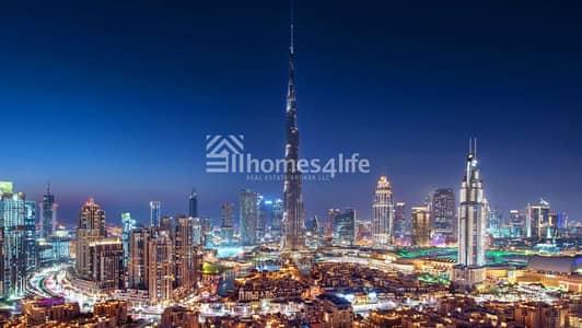 شقة 2 غرفة نوم للبيع في وسط مدينة دبي، دبي - Luxury Apartment with pool view
