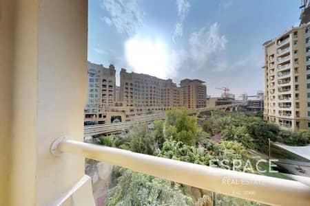 2 Bedroom Flat for Rent in Palm Jumeirah, Dubai - Large Type F - Fully Furnished - Park Views