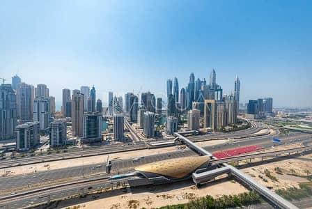 فلیٹ 3 غرف نوم للبيع في أبراج بحيرات الجميرا، دبي - High Floor | Chiller Free | Amazing view