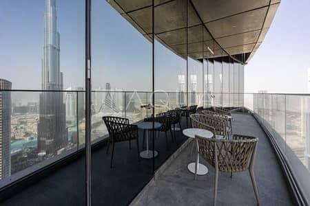 بنتهاوس 5 غرف نوم للبيع في وسط مدينة دبي، دبي - Exclusive | 5 Bed Duplex | Above Infinity Pool