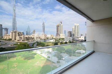 شقة 2 غرفة نوم للايجار في وسط مدينة دبي، دبي - Unfurnished | Immaculate | Burj Khalifa Views