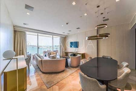 فلیٹ 2 غرفة نوم للايجار في نخلة جميرا، دبي - Furnished | Vacant | Amazing Sea View