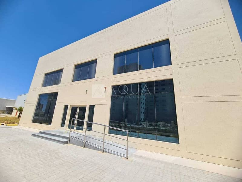 Warehouse   Open yard   Office in JAFZA