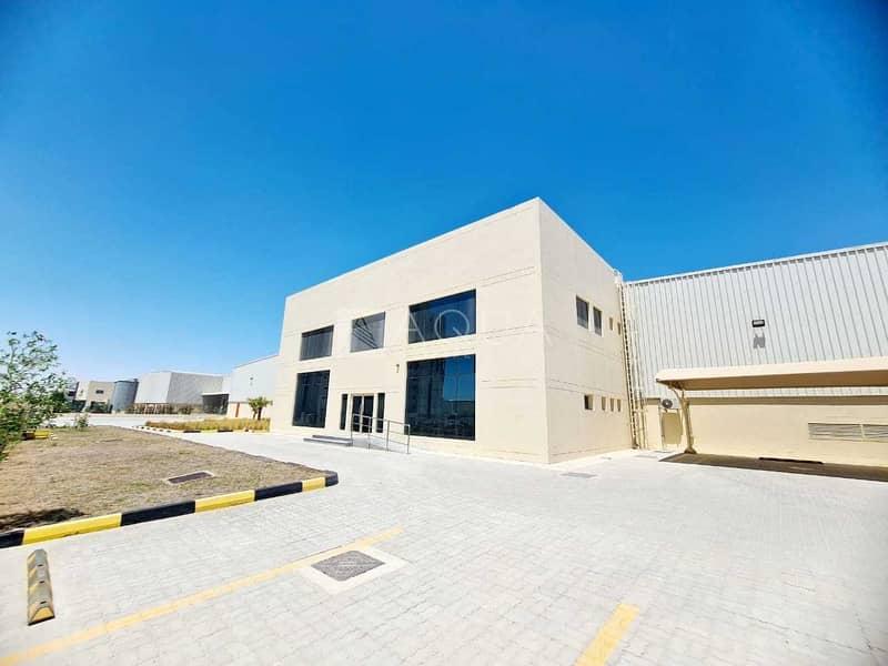 2 Warehouse   Open yard   Office in JAFZA