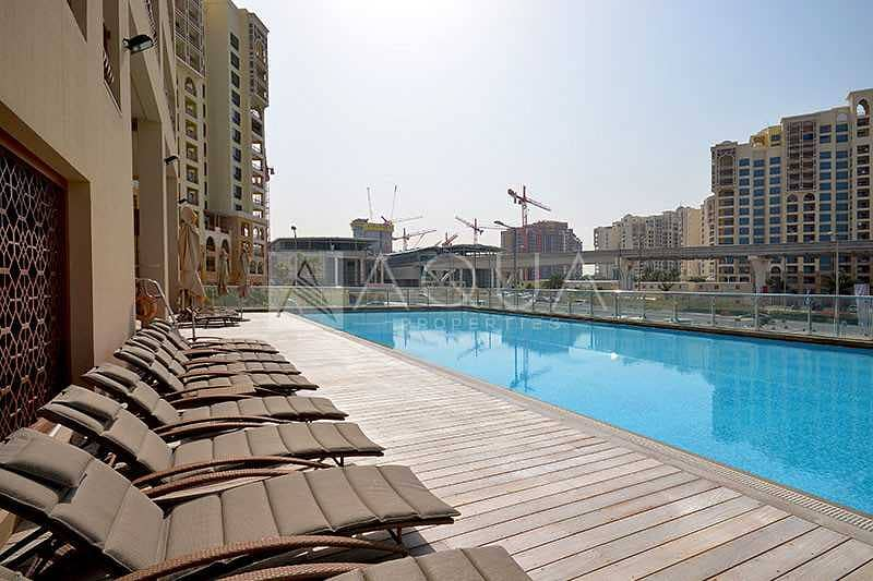 10 Full Sea View   Furnished   Pool & Gym