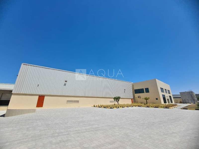 15 Warehouse   Open yard   Office in JAFZA