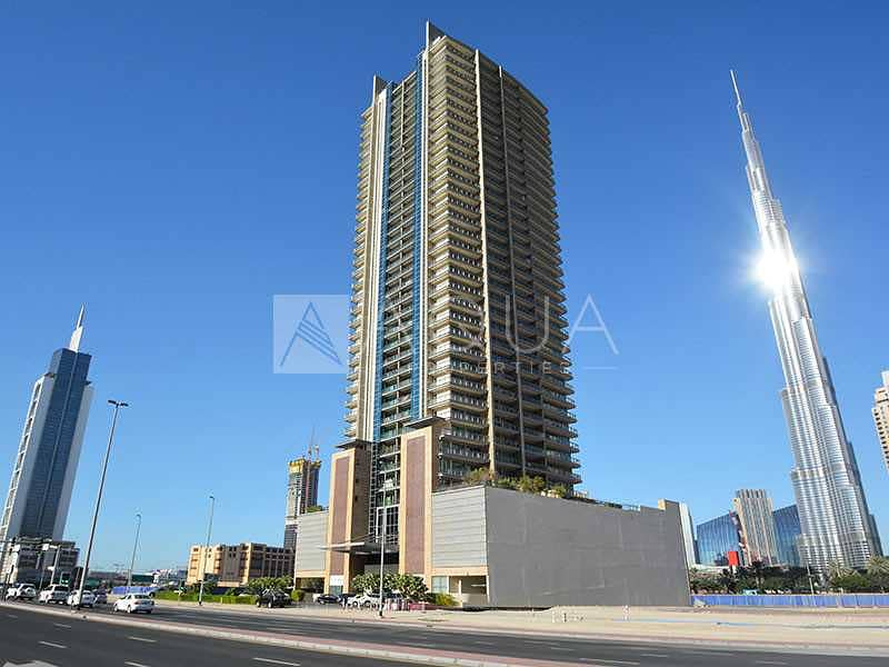 10 Unfurnished Studio | Well Maintained | Rented