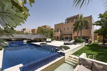 6 Bedroom Villa for Sale in Arabian Ranches, Dubai - Unique Hattan- GC View 15k Plot Upgraded