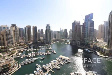 شقة 3 غرف نوم للايجار في دبي مارينا، دبي - 3 Bedrooms   Full Marina View   Luxury