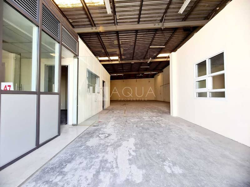 Warehouse | Fitted Office | Al Quoz Ind 1