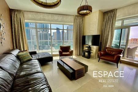 3 Bedroom Flat for Rent in Dubai Marina, Dubai - Beautiful   Full Marina Views   Rare