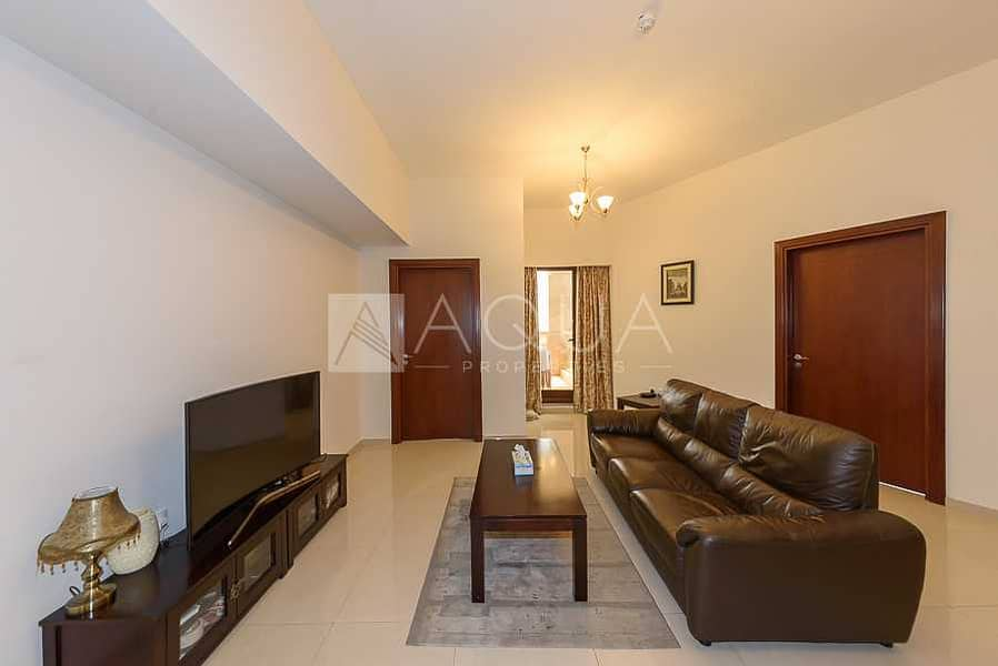 2 Furnished | Community View | Huge Balcony