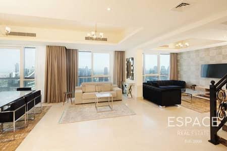بنتهاوس 4 غرف نوم للايجار في دبي مارينا، دبي - Luxury | Fully Furnished | Bills Included