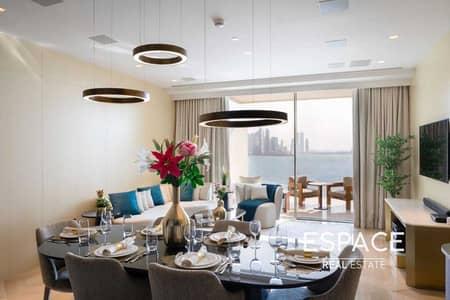 شقة 2 غرفة نوم للبيع في نخلة جميرا، دبي - Vacant - 2 Bedroom - Sea View