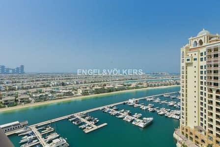 شقة 2 غرفة نوم للايجار في نخلة جميرا، دبي - Building 04 | Type C | Full Sea View| Spacious