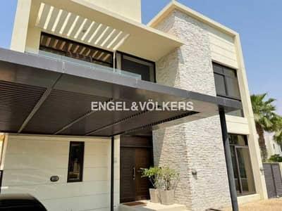 5 Bedroom Villa for Sale in DAMAC Hills (Akoya by DAMAC), Dubai - Spacious|Rented|Big Plot|Single Row |Corner Unit