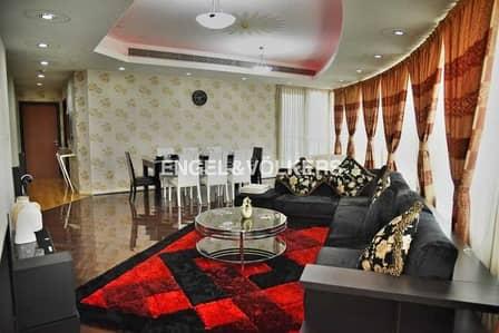فلیٹ 4 غرف نوم للبيع في دبي مارينا، دبي - Vacant  Furnished  Plus maid's  Next to Metro