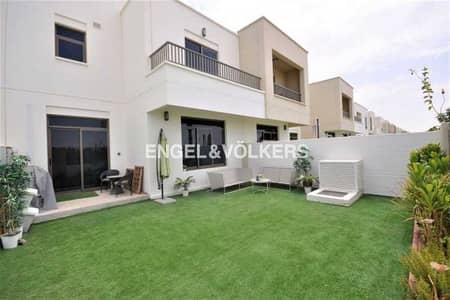 فیلا 3 غرف نوم للايجار في تاون سكوير، دبي - Type 6   Vacant   Single Row   Landscaped