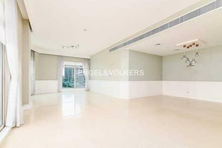 شقة 3 غرف نوم للايجار في دبي مارينا، دبي - Upgraded|Huge Layout|Low Floor|Available Now