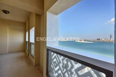شقة 2 غرفة نوم للايجار في نخلة جميرا، دبي - Pool & Palm View|Type E|High Floor|Maid's Room
