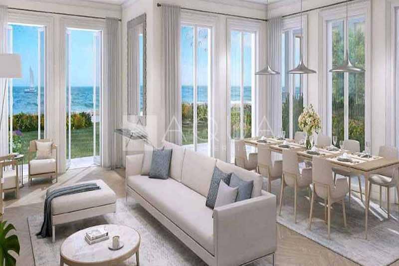 2 Sea View | Front Row | Lavish 5 BR + Maid