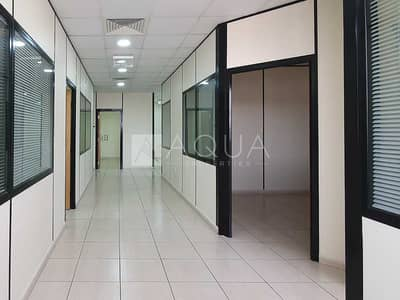 Office for Rent in Al Quoz, Dubai - Fitted | Partitioned Office | Near Metro