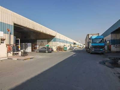 مستودع  للبيع في مجمع دبي للاستثمار، دبي - 110 KW | 8 M Height | Offices | No Land Tax
