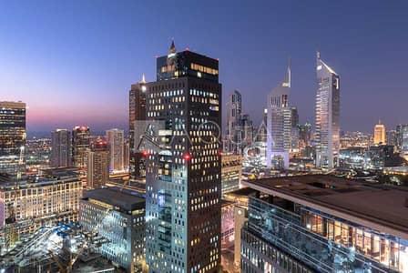 فلیٹ 3 غرف نوم للبيع في مركز دبي المالي العالمي، دبي - Best High Rise Tower in DIFC  High Floor