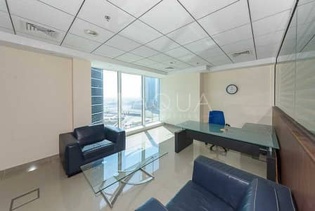 Office for Rent in Business Bay, Dubai - Fully Fitted | Furnished | Partial Lake View