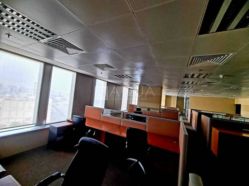14 Good deal   Furnished   Partitioned office