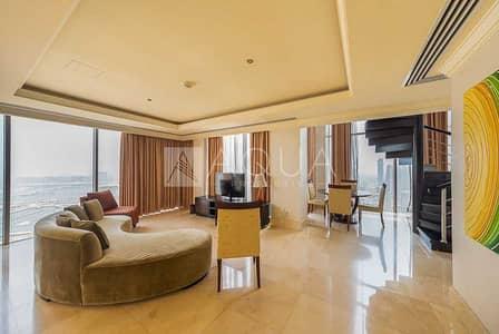 بنتهاوس 1 غرفة نوم للايجار في جميرا بيتش ريزيدنس، دبي - Penthouse | Fully furnished | Marina view