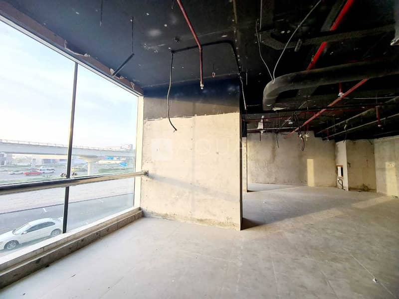 2 Fitted Showroom | Facing  Sheik Zayed Road
