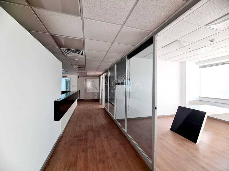 12 7 Partitions | Close to Metro | Shk Zayed Rd