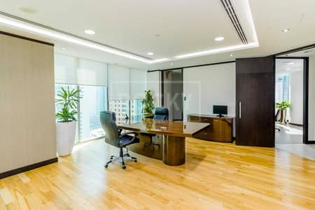 Office for Rent in Jumeirah Lake Towers (JLT), Dubai - Ready to Move | Designer Fitting-Furnishing | Grade A Tower