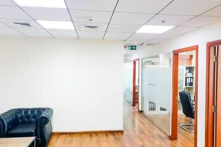 مکتب  للبيع في الخليج التجاري، دبي - Good ROI | Fitted Office | 2 Parking | Prime Location